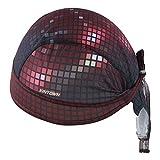 HYSENM Men Fashion Quick Dry Breathable Cycling Sports Bandana Cap Headscarf Helmet Liner Headwear Hat Sun UV Protection