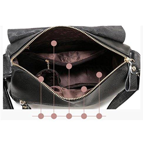 Blackprinting à De Messager Mode à Sac Sacs Imprimés Main Simple Sacs à Sacs Sacs Coréen La Bandoulière XawIdqc
