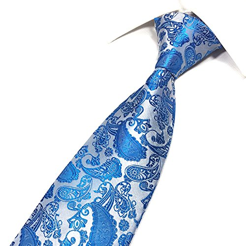 Tie for Landslide Event Party Party Necktie Gift Men Wedding Wedding Business amp; Occasions Set Set Formal Blue Tie fqdqx1rBF