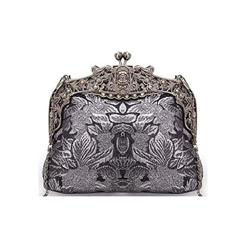 Clutch Womens Mystery Handbag Womens Black Mystery Pouch Pouch w8EzZXqt