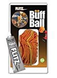 Flitz Buff Ball Car Buffer Drill Attachment with Self-Cooling Design That Never Scorches or Burns + No Exposed Hardware to Prevent Scratches, Buff and Polish Any Surface, Machine Washable, 5 Inch