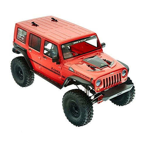 Axial 1/10 SCX10 II '17 Jeep Wrangler Unlimited CRC RTR - 90