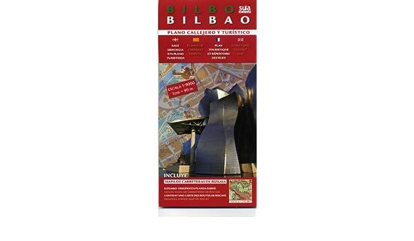 BILBAO, PLANO CALLEJERO Y TURÍSTICO Plano Callejero Turistico ...