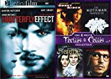 Change One Thing 5 Movie Thrills & Chills Butterfly Effect + Ghost Rider Marvel / Mothman Prophecies / The Bride / Secret Window DVD Dark Collection