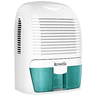 .com - Kowela Electric Dehumidifier for Home 2200 Cubic Feet(52 oz Capacity) Compact Quiet Portable Small Dehumidifiers for Home Bathroom Kitchen Bedroom Basement Caravan Office Garage - [5Bkhe0110374]