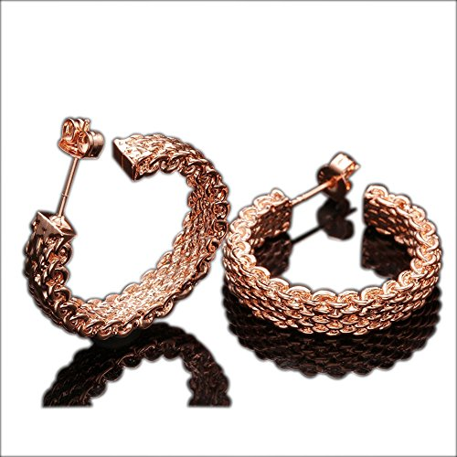 cheo-rish-gold-plated-womens-hoop-earringsrose-gold18k-gold