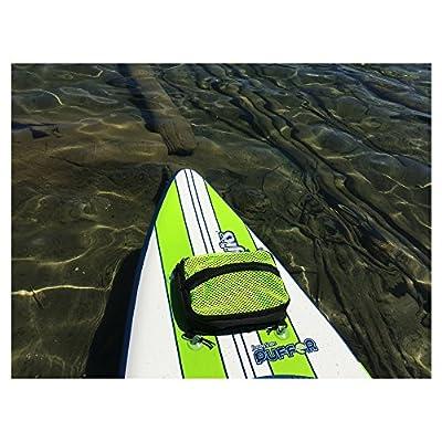 Paddle Board Accessories - SUP Cooler Bag and Mesh Top in One, Plus a Bonus 2L Waterproof Dry Bag!