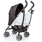 JOOVY Twin Groove Ultralight Umbrella Stroller, Charcoal
