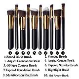 Moonkini 10x Kabuki Concealer Set High Quality Make Up Blusher Brush Foundation Brushes