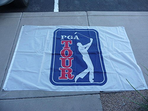 1970'S JACK NICKLAUS SIGNED PGA BANNER COMES WITH COA 100 AUTHENTIC VERY BIG