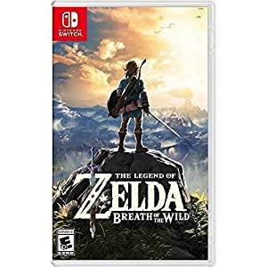 The Legend of Zelda: Breath of the Wild - Nintendo Switch - Standard Edition
