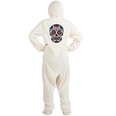 67aa115da5 Amazon.com  CafePress - Sugar Skull - Novelty Footed Pajamas
