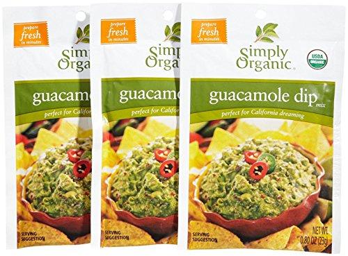 (Simply Organic Guacamole - 0.8 OZ - 3)