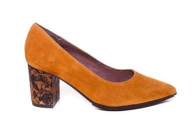 Zapatos Ana Roman es Zapato Mostaza Amazon Y 18150 Salón xtRH0R