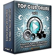Top Club Drums Vol 1 - 2888 Drums and Drum Loops, Drum Sample Pack [Apple Loops/ AIFF] [DVD non Box]