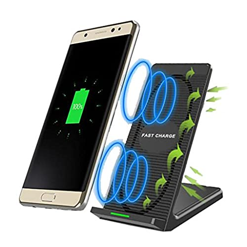 Wireless Charger, QI Fast Wireless Charging Pad Stand for