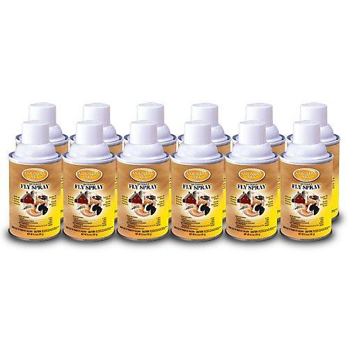 CS Country Vet Metered Fly Spray Refill 12 Pack by COUNTRY VET