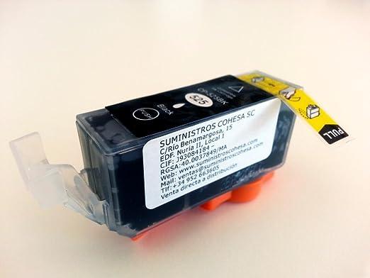 TINTA COMESTIBLE PGI-520BK SIN GLUTEN: Amazon.es: Hogar