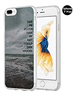Iphone 7 Plus Case Christian Quotes, Hungo Apple Iphone 7 Plus Case Soft Tpu Silicone Protective Bible Verses Theme Rubber