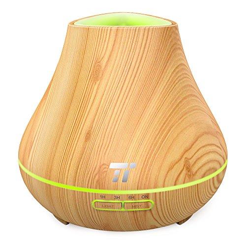 TaoTronics Oil Diffuser, 400ml Grain Diffuser for Aromatherapy