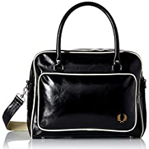 Fred Perry Men's Classic Holdall, Black, One Size