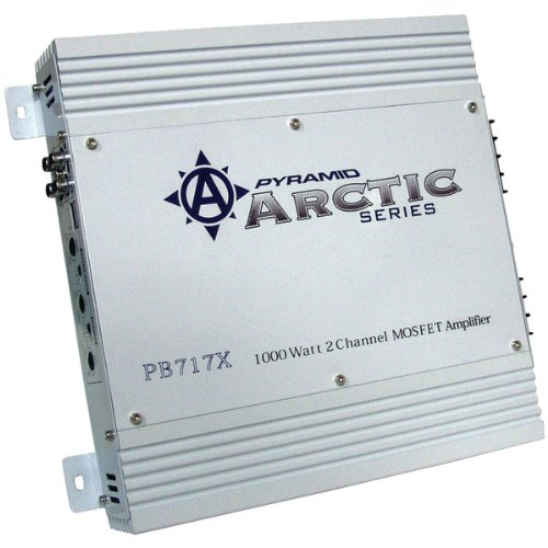 Pyramid pb717x Pyramid Pb717x 1000w 2 Ch Car Audio Amplifier Amp 2 Channel 1000 Watt