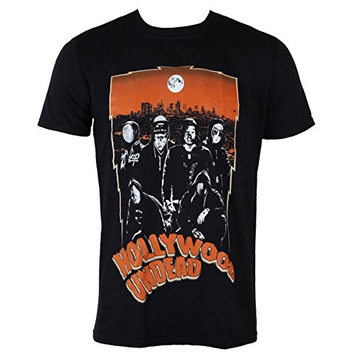 Herren T-Shirt Hollywood Undead - Full Moon - PLASTIC HEAD - PH9697 XL