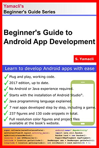 3164e6dec Beginner's Guide to Android App Development: A Practical Approach for  Beginners by [Yamacli,