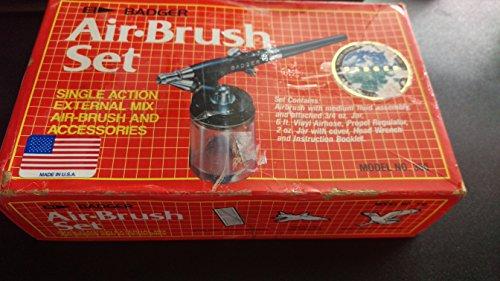 Badger Model 350 External Mix Airbrush (Model 350-3 Kit) - Product (Model 350 Airbrush)