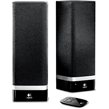 logitech z 5 usb stereo speakers for mac and pc electronics. Black Bedroom Furniture Sets. Home Design Ideas