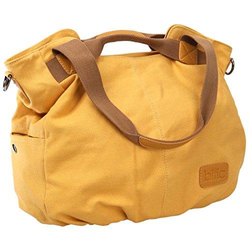 sac de à main pour anse porté orange épaule BMC toile Double clair femme RCxXFnqYw