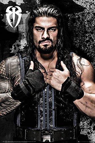 WWE - Wrestling Poster / Print Roman Reigns & Strip Set By Stop Online