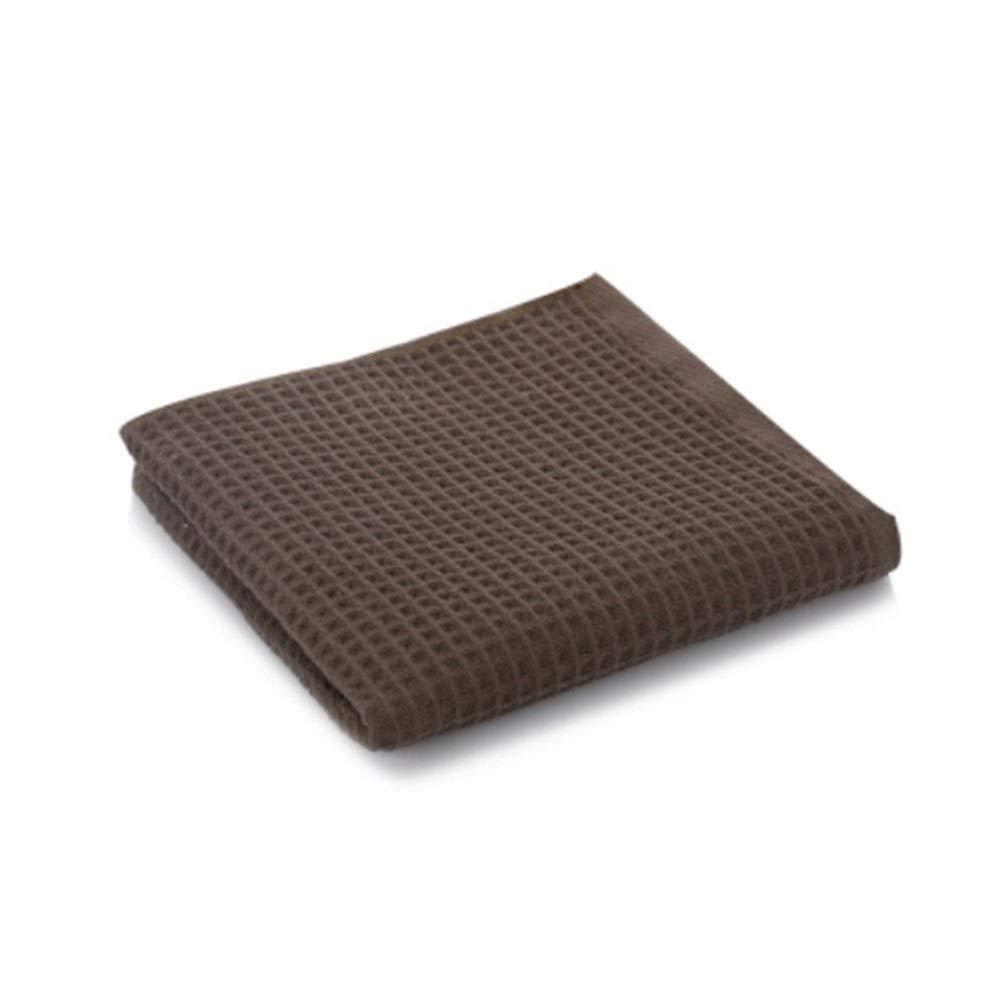 King Boutiques 34x75cm 100/% Cotone Asciugamano a Nido dApe Assorbente Assorbente Personalizzato Asciugamano for Le Donne degli Uomini Color : Brown