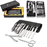 New Luxury Stainless Steel 11 Piece Manicure Pedicure Set for Men – The Gentleman's Grooming Kit