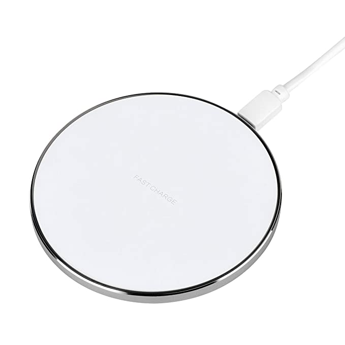 Amazon.com: Wireless Charger DETHINTON Qi Charging Pad Ultra Slim Universal Newest Model for iPhone X iPhone 8 Plus iPhone 8 Samsung Galaxy S8+ S8 S7 S7edge ...
