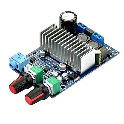 AOSHIKE TPA3116 DC 12-24v 100W Subwoofer Amplifier Board Support Bass Output digital small power amplifier board Video Audio Accessories