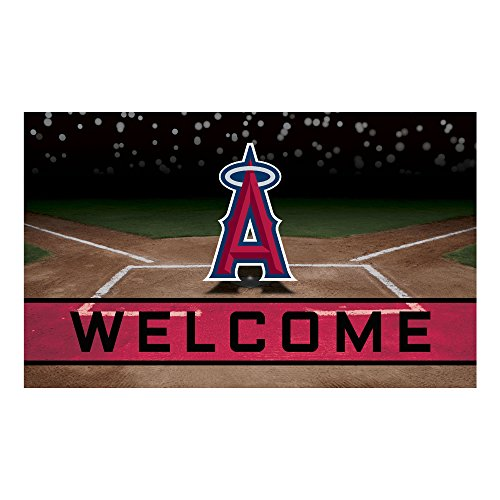 FANMATS 21921 Team Color Crumb Rubber Los Angels Door Mat
