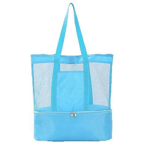 Bolsa de hielo para bolsas de picnic, bolsa con doble ...