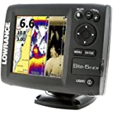 Lowrance 000-11146-001 Elite-5 HDI Combo with Basemap and 50/200-455/800KHz Transducer (Discontinued by Manufacturer)
