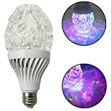LED Disco Party Light Bulb, 7W E27 White and