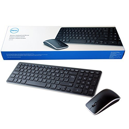 NEW Dell KM714 Keyboard Mouse Combo French Canadian w/ Receiver- 4TDH3