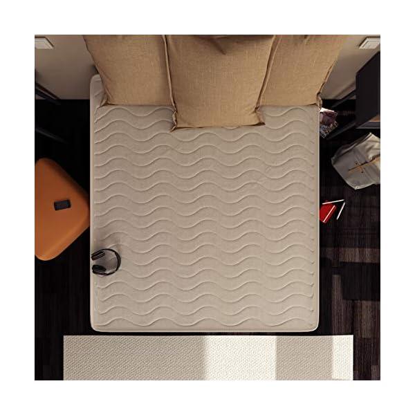 Baldiflex Easy Materasso, in Memory Water Foam, Cotone Ortopedico, Poliuretano, Bianco, 140 x 190 x 18 cm 3 spesavip