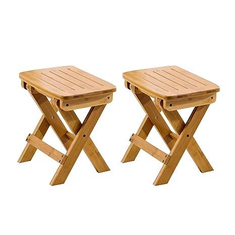 WYYY silla de Oficina Taburete Plegable Portátil Taburete De ...