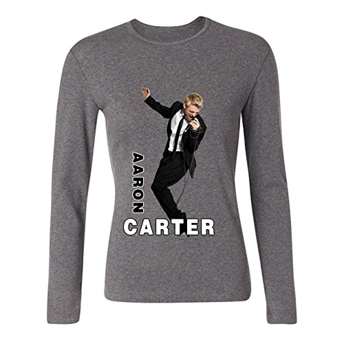 USTJC Women's Aaron Carter Song Long Sleeve T Shirt L