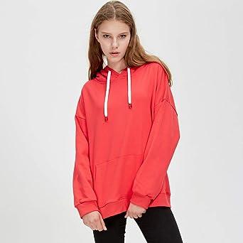 Amazon.com: Respctful ♪☆ Tops for Women,Ladies Solid Hoodie Sweatshirt Long Sleeve Pullover Casual Sport with Kangaroo Pocket Tops: Clothing
