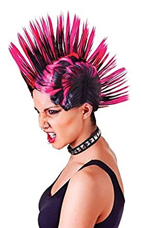 Lollipop Clothing Mens and Womens Multi Colour Spiked Hair ...