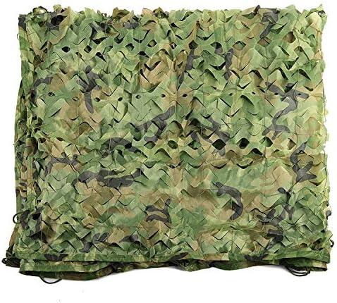 迷彩ネット迷彩ネット木製ランドシェードサン日焼け止めオックスフォードポリエステルデザートキャンプ用非表示キャンプ軍事狩猟射撃ブラインドウォッチ非表示パーティーの装飾マルチサイズ