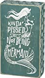 Primitives by Kathy Beach-Inspired Teal Box Sign, 5