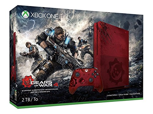 Xbox One S 2TB Limited Edition Console - Gears of War 4 Bundle
