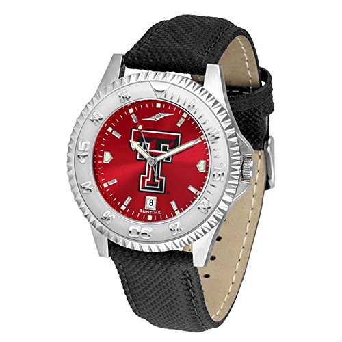 Texas Tech Red Raiders Competitor AnoChrome Men's (Texas Tech Competitor Watch)